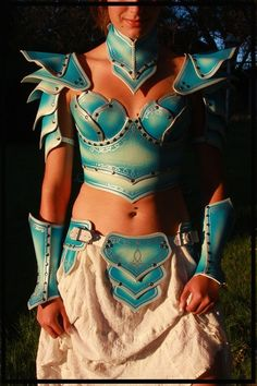 how to make foam armour | You can make foam armour out of old foamy placemats. | Costume