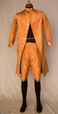 1750 Men's Fashion   Men's Fashion:1750-1765