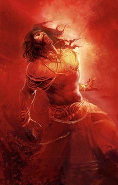 Ravana pinned under Kailash mountain by Shiva Mythology Books, Mythological Characters, Lord Vishnu Wallpapers, Lord Shiva Painting, Spiritual Warrior, Shiva Wallpaper, India Art, Durga Goddess, Indian Gods