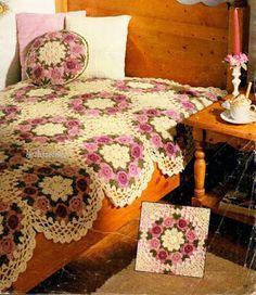 BethSteiner: Quilt in wonderful crocheted