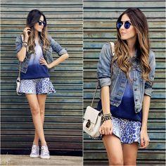 Displicent Skirt, Dafiti Sneakers, Levi's® Jacket