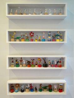para a coleção de heróis e bonequinhos do kiki