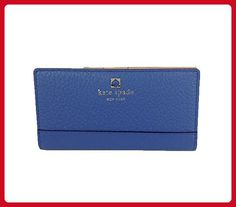 Kate Spade New York Southport Avenue Stacy Leather Continental Wallet, Bluebelle - Wallets (*Amazon Partner-Link)