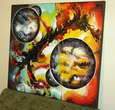 ASTRONOMICAL CLOUDS - IN PROGRESS Mod de realizare : acril pe panza Dimensiune : 80 x 70 cm Wall Paintings, Acrylic Paintings, Timeline Photos, Art, Wall Murals, Murals, Kunst, Art Education, Artworks