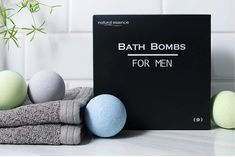 Men's Bath Bomb Set of 9 by Natural Essence, Relaxing Bath Bombs for Men Perfect Image, Perfect Photo, Love Photos, Cool Pictures, Bath Bomb Gift Sets, Lush Bath, Relaxing Bath, Man Set, Fragrance Oil