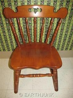 Tell City Mate Chair 8046 Hard Rock Andover Maple Early American Furniture | eBay