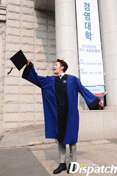 Jang Keun Suk's graduation day…2014.02.20 #Dispatch