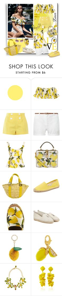 """Capri Cool"" by sylandrya ❤ liked on Polyvore featuring Dolce&Gabbana, Boutique Moschino, Dorothy Perkins, Soludos, Loro Piana, Kate Spade, Sachin + Babi and Miu Miu"