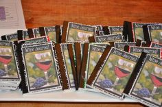 Wine Tasting Party Journals