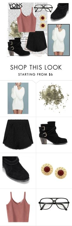 """""""white mohair jumper"""" by nicholas-the-third ❤ liked on Polyvore featuring Victoria Beckham, Topshop, contest and yoins"""