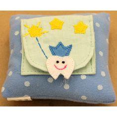 Tooth Fairy Pillow - Boys Blue