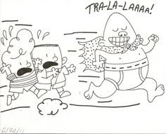coloring page of captain underpants - Enjoy Coloring