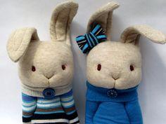 Mara's Little Bunnies in blue.