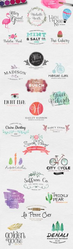 The Watercolor Media Kit (For PS) by Callie Hegstrom on @creativemarket