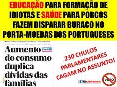 #EDUCAÇÃO E #SAÚDE EM #PORTUGAL https://www.facebook.com/FDPv.AntiCorruptos/photos/a.529013027123552.125240.529007030457485/956039221087595/?type=1…