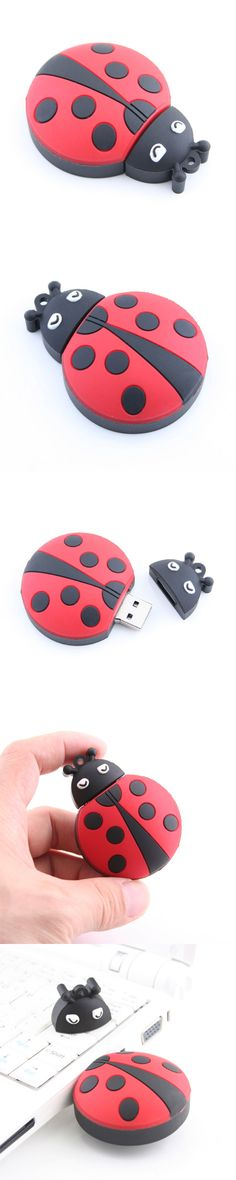 Ladybug USB Flash Drive http://www.usbgeek.com/products/ladybug-usb-flash-drive