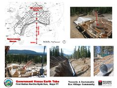 First Nation of Na-Cho Nyäk Dun Community Master Plan Mother Bears, Park Lodge, Lake Resort, Park Resorts, Spring Resort, Cultural Center, Sea Birds, Master Plan, First Nations