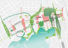 Remediation strategies are key to new Wuhan Yangchun Lake Business District Urban Design Diagram, High Speed Rail, Environmental Challenges, Landscape And Urbanism, Urban Agriculture, Public Realm, Central Business District, Wuhan, Master Plan