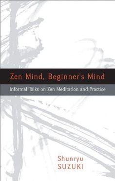 Zen Mind, Beginner's Mind by Shunryu Suzuki http://www.amazon.com/dp/1590308492/ref=cm_sw_r_pi_dp_Fmlcub0HJP0AS