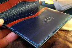 handmade - wallet - leather