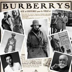 The iconic trench coat from Burberry.