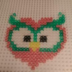 Owl hama beads by kreativamorsan