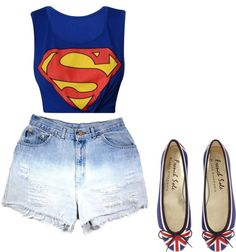 """""""Super Girl"""" by bbrunabarzon on Polyvore"""