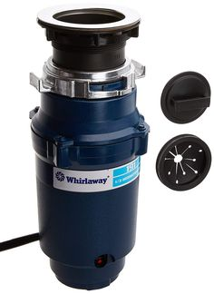 Whirlaway hp Garbage Disposal with Cord, Blue >>> Check out the image by visiting the link. (This is an affiliate link)