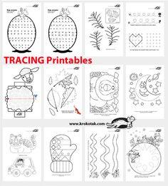 TRACING Printables