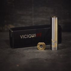 The phenom by @viciousant_official come check out this beautiful mod today. Unique styling with its brass and stainless steel tube and the smoothest lockring on the market today.  Don't forget that with a purchase of any mod you get a free 12ml or 15ml of juice. #Padgram