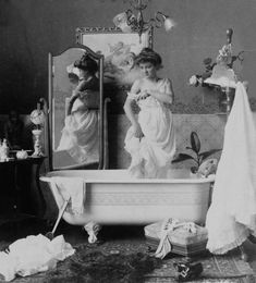 Edwardian era; love the composition of this shot