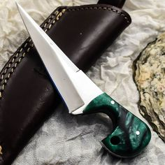 ALONZO KNIVES USA CUSTOM HANDMADE TACTICAL SKINNER 1095 KNIFE CORELON 93 #AlonzoKnives