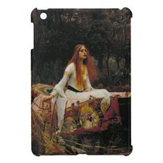 Lady of Shallot by John William Waterhouse iPad Mini Covers