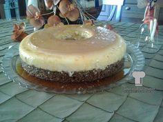 Greek Sweets, Greek Desserts, Greek Recipes, Tiramisu, Food To Make, Caramel, Cheesecake, Deserts, Food And Drink