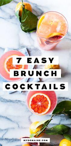 Summer brunch cocktail recipes
