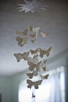 butterfly mobile!