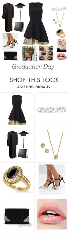 """graduation day Diberville high"" by bwilliamson102976 ❤ liked on Polyvore featuring Slate & Willow, Givenchy, Allurez, New Look and La Regale"
