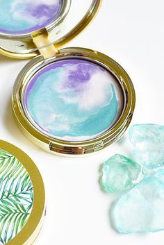 Glory Boon is a shop frequented by Princess Ariel. Below is her favorite product; a mermaid-inspired highlighter. | 30 Of The Best Places To Buy Beauty Products On Etsy