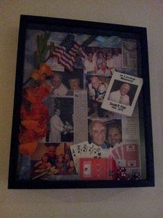A memory shadow box. #funeral #memorial #tribute Heritage Funeral Homes, Crematory and Memorial Parks, Arizona