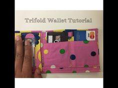 DIY: Trifold Wallet Tutorial - YouTube
