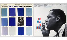 blue jazz record covers