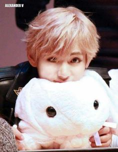 Taetae with plushie