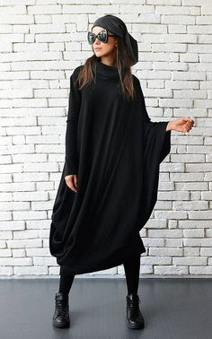 Maxi Black Dress - METD0018  This is the most comfortable dress you will ever…
