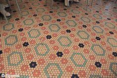 Beaches & Cream Floor Tiles by J Spence