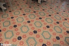 Beaches & Cream Floor Tiles by J Spence