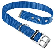 #PACC Pets Club Cf25 & 53 1 in. Blue Dog #Collar
