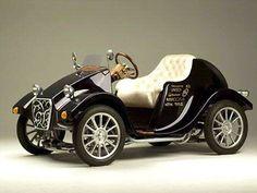 Black Vintage car