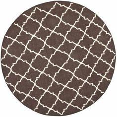 Safavieh Dhurrie Flatweave Moroccan Wool Area Rug, Brown