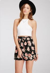 Lucille Mae: Express has out done itself again with the crop tanks this season, this being one of our simple favorites