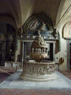 Fonts Baptismaux de S. Frediano - Lucca
